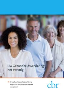 Brochure gezondheidsverklaring